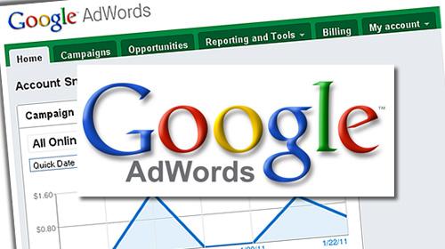Gestion des campagnes Adwords