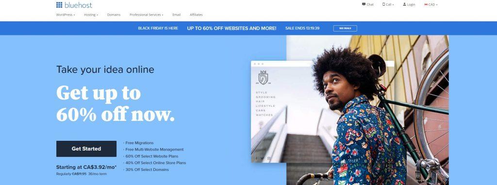 bluehost hebergement web